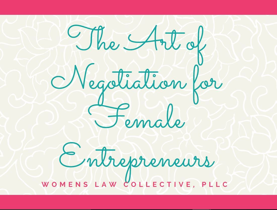 Art of Negotiation for Female Entrepreneurs