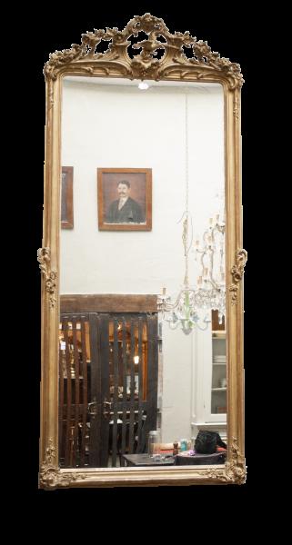 grote antieke franse spiegel la folie antiek