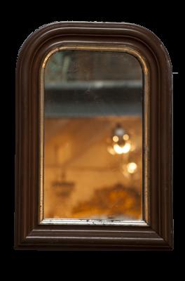 Antieke Franse spiegel Napoleon III 1870 ± la folie antiek den bosch 's-Hertogenbosch Noord-Brabant brocante sfeer ambiance
