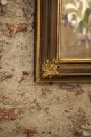 Antieke franse spiegel la folie antiek den bosch 's-hertogenbosch noord-brabant nederland brocante kroonluchters industriele lampen industrieel fabriekslamp vintage