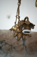 Antieke marmeren lamp jaren 60 1960 la folie antiek den bosch 's-hertogenbosch noord-brabant nederland