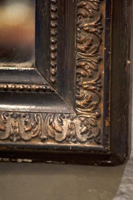 Antieke Nederlandse spiegel verzilverd la folie antiek den bosch noord-brabant 's-Hertogenbosch nederland kroonluchters spiegels industriele lampen binnenstad recreatie