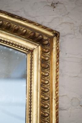 Grote antieke franse spiegel la folie antiek den bosch 's-hertogenbosch noord-brabant nederland winkel antiek vintage brocante kroonluchters grote tafels goud verguld