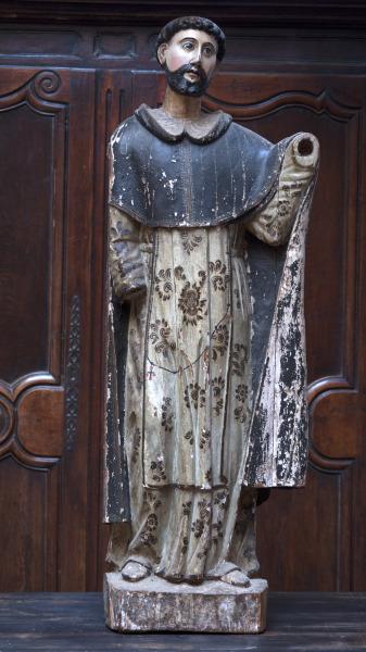 antiek monnikken standbeeld la folie antiek den bosch 's-hertogenbosch nederland antique monk vintage statue