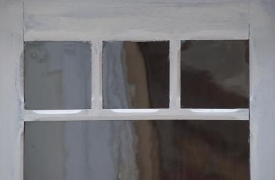 Grote franse vitrine kast antiek glas elegant eiken houten vitrine kast barok glas vintage Antieke houten kast La Folie Antiek den bosch 's-hertogenbosch vintage tafels nederland hele grote vintage kast