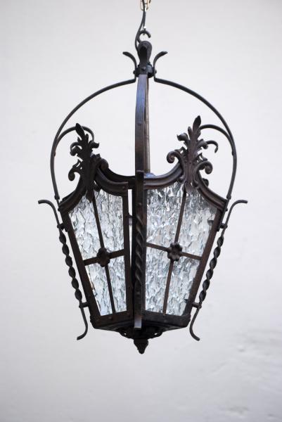 antieke franse lantaarn 1880 noord-brabant den bosch kroonluchters lampen industriele lampen den bosch la folie antiek nederland lantaarns