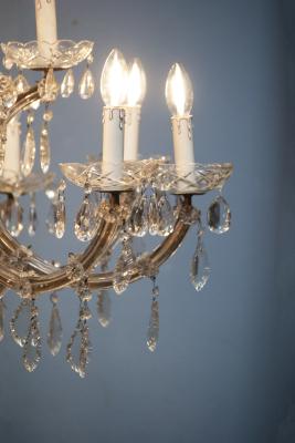 antieke kroonluchter art deco kristallen vintage kroonluchter la folie antiek den bosch 's-hertogenbosch nederland noord-brabant