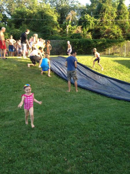 Special Event Slip and Slide