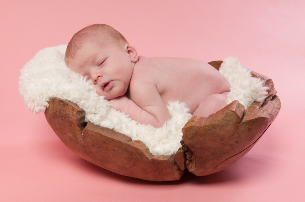 Newborn photography props