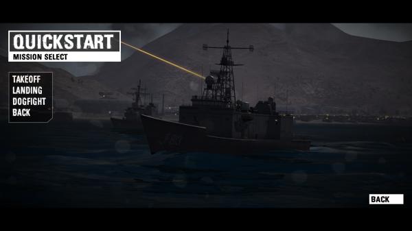 Flight & naval combat simulator