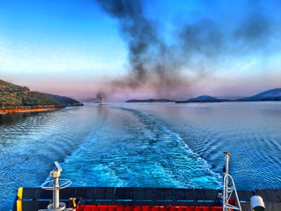 Ferries and cruises are biggest polluters