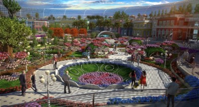 "CENTRAL PARK, DUBAI ~ ""BOTANICAL MALL"""