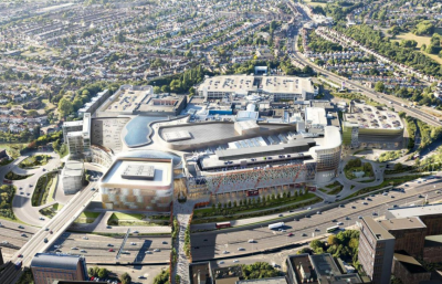 BRENT CROSS IN £1.4bn UPGRADE