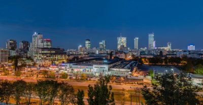 POLAND~WARSAW~ECHO LAUNCH NEW MALL PROJECT