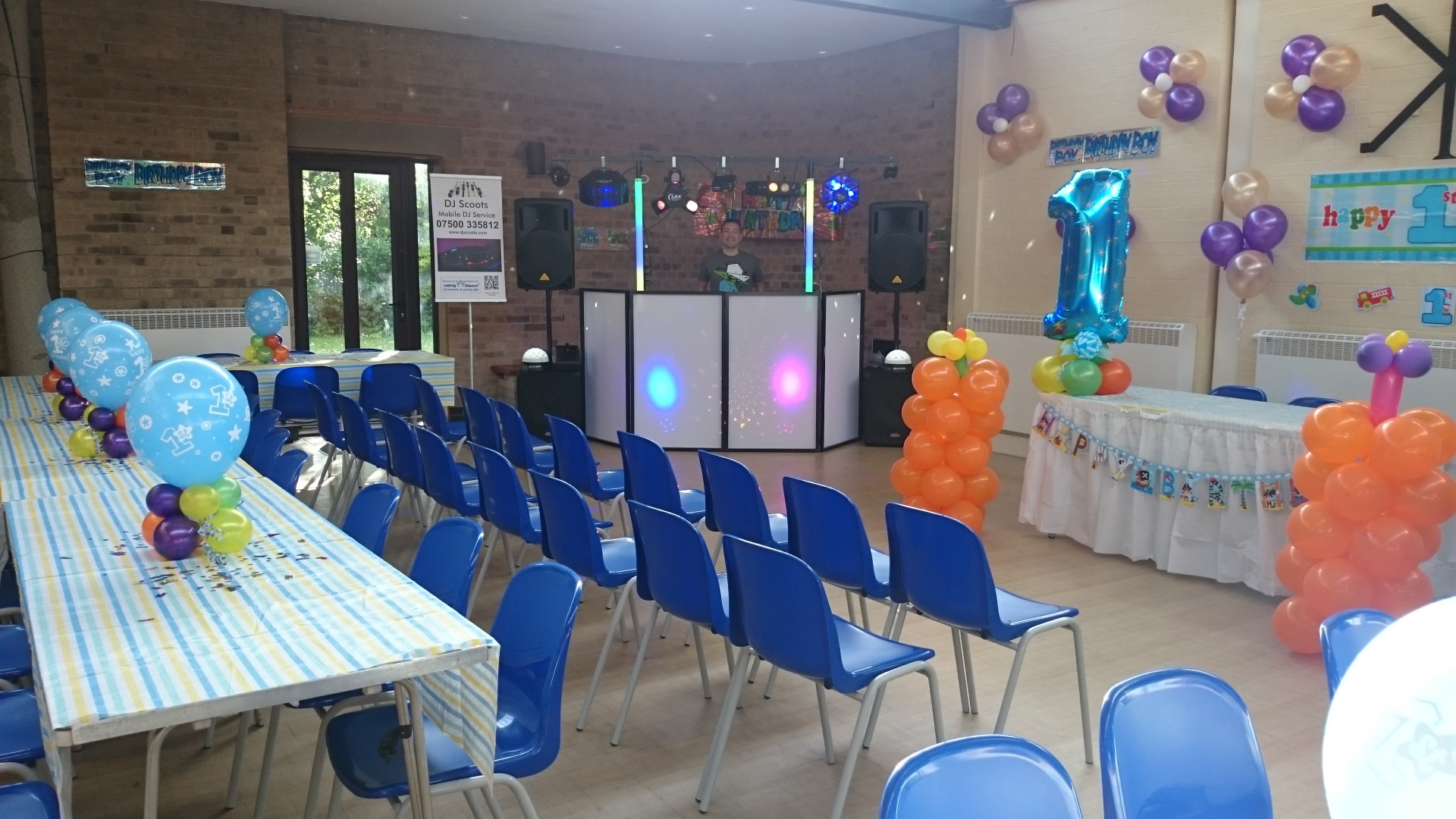 Small Party Setup