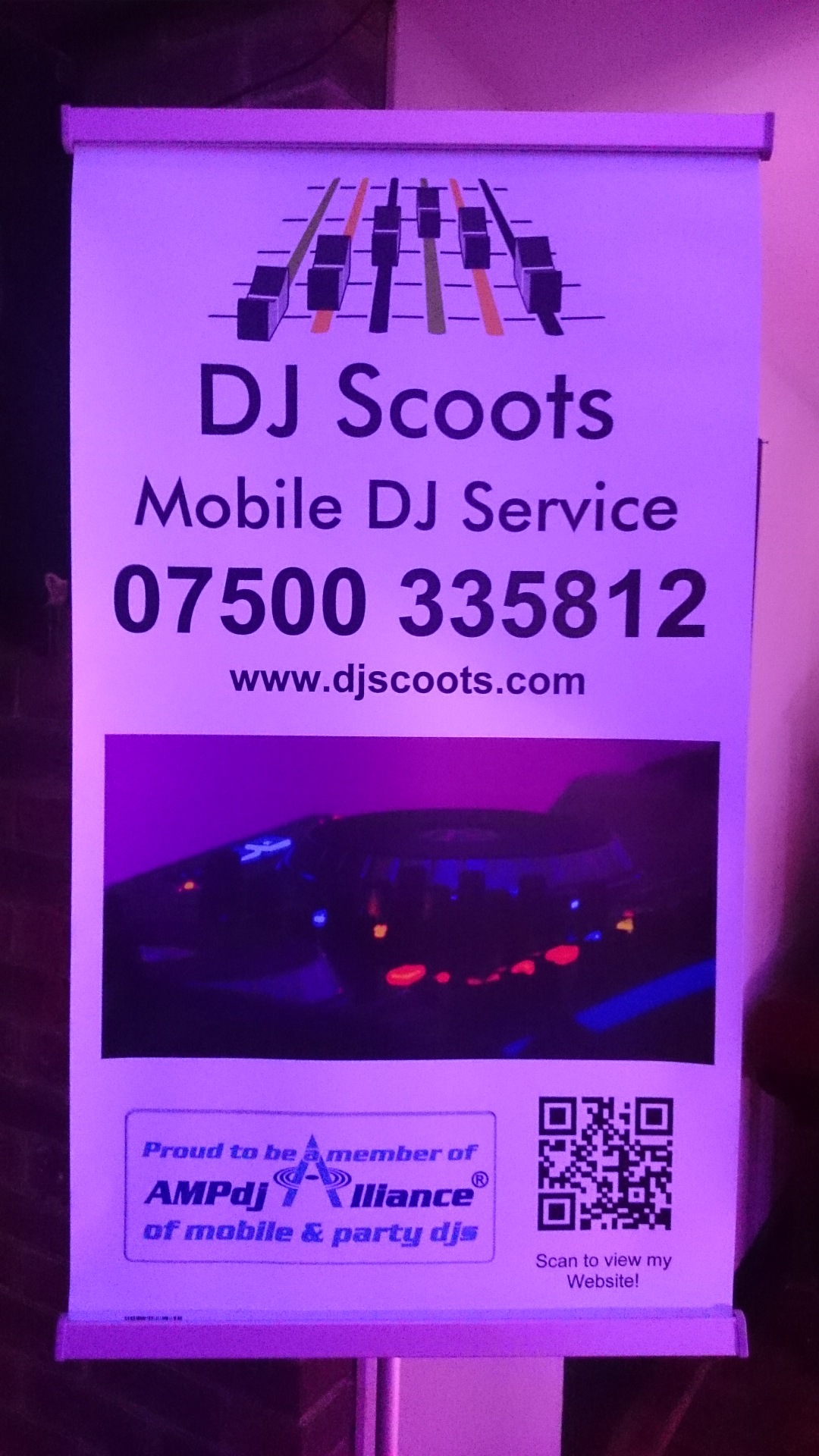 DJ Scoots Banner