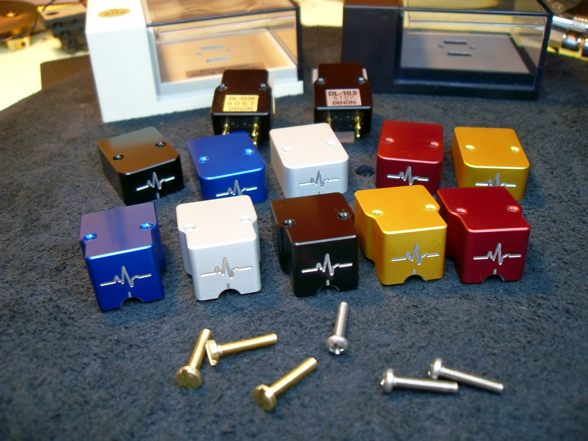 Pulse Guard phono cartridges