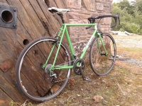 Handbuilt Ireland Lugged Steel Frame and Forks