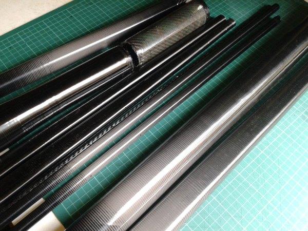 Hand Made Carbon Fibre Tubeset Reynolds Columbus