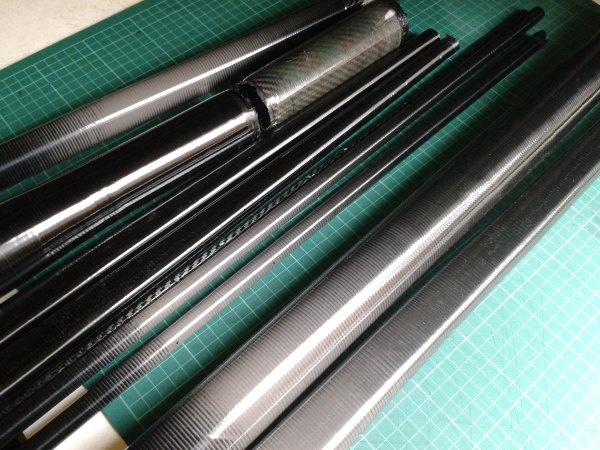 Hand Made Carbon Fibre Tubeset Reynolds Columbus