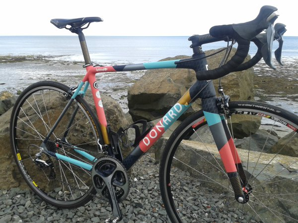 Special Collaboration Bike 11th Edition of Lap the Lough Victory Chimp