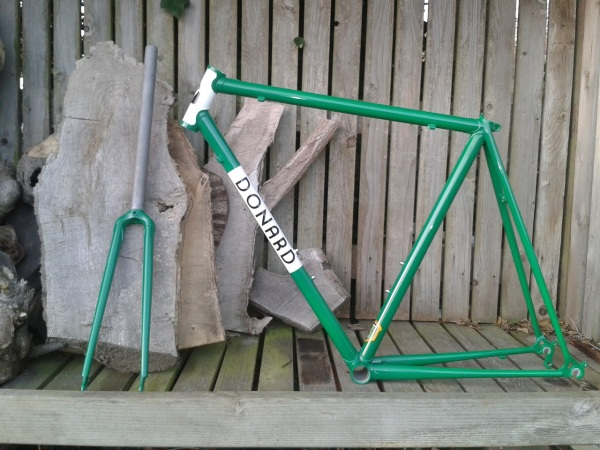 Donard Steel Lugged Custom Handmade Frame
