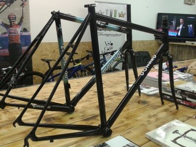 Donard Fillet Brazed Frame and Fork Velo Cafe Magasin