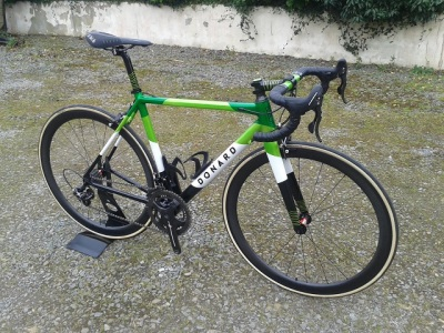 Award-winning Donard Custom Campag Bike