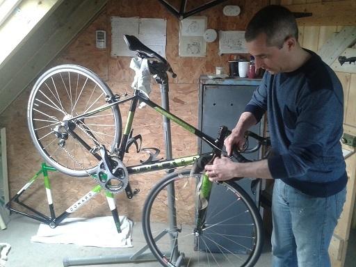 Donard Bike Build