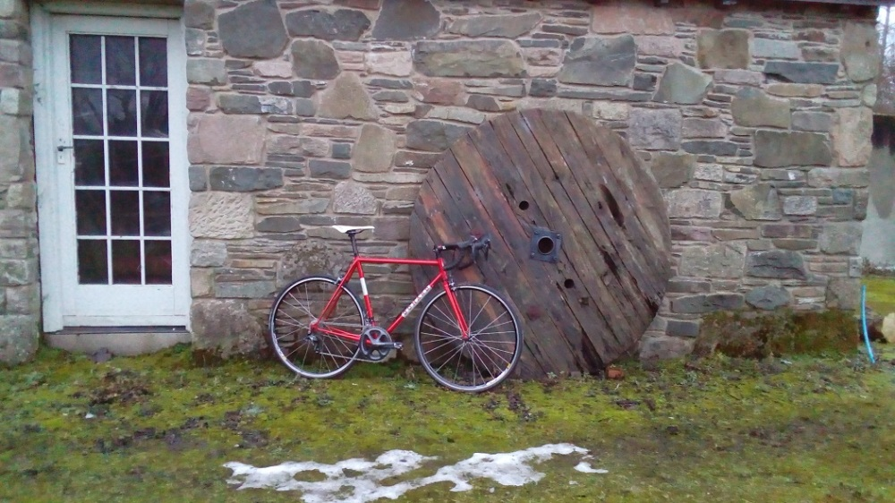 Reynolds Winter training bike