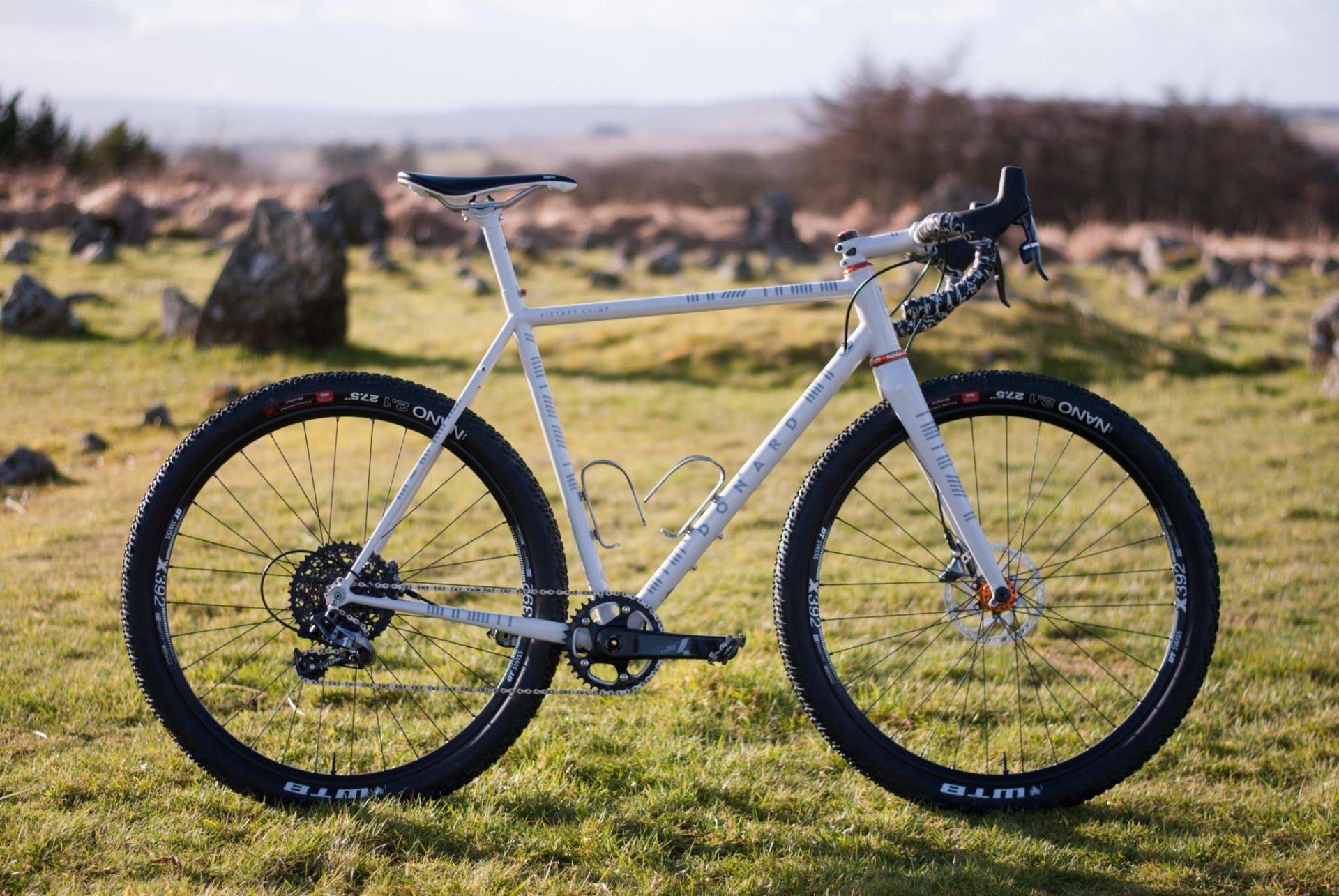 Donard Custom Steel Gravel Bike