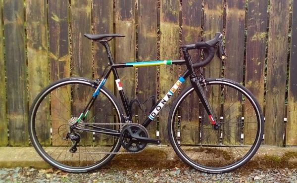 Custom Reynolds steel road bike