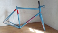 Custom paint, Framebuilding course, columbus forks,