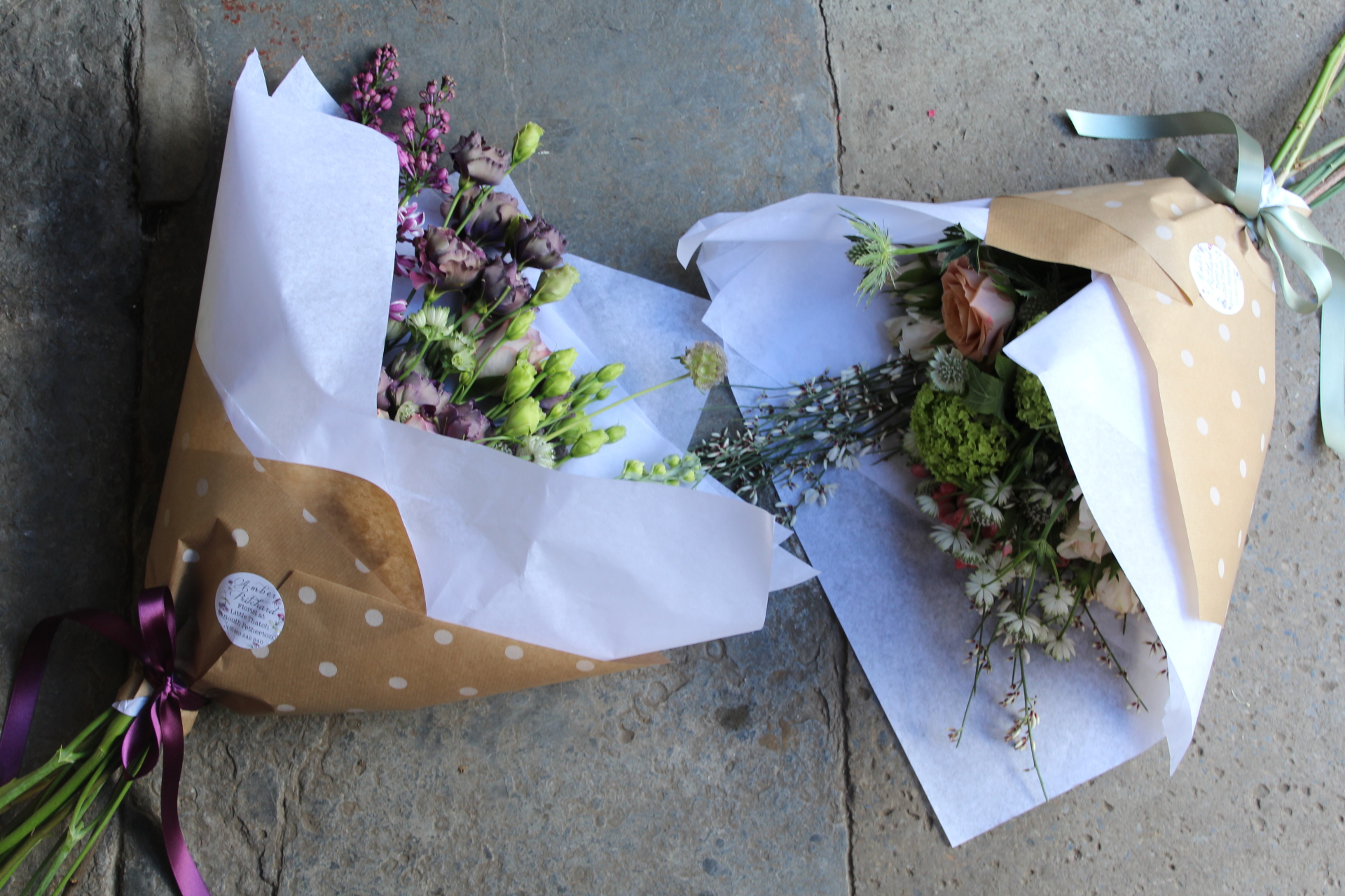 Florist choice bunches from £15