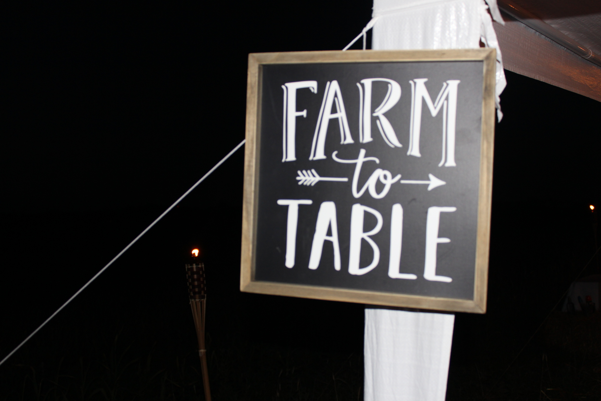 Farm to Table Dinner July 2017
