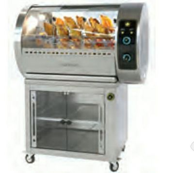 ROŻNO GAZOWE G30R /Gas chicken grill with baskets 16.720,00