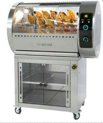 ROŻNO ELEKTRYCZNE E30R/Electric chicken grill with baskets 16.020,00PLN