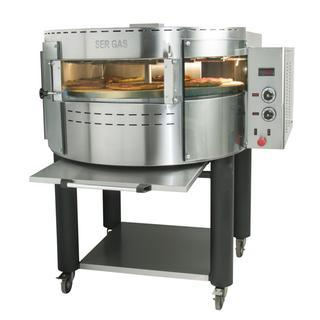 PIEC DO PIZZY elektryczny OKE1 Electric pizza oven with rotating deck and base 29.118,00PLN