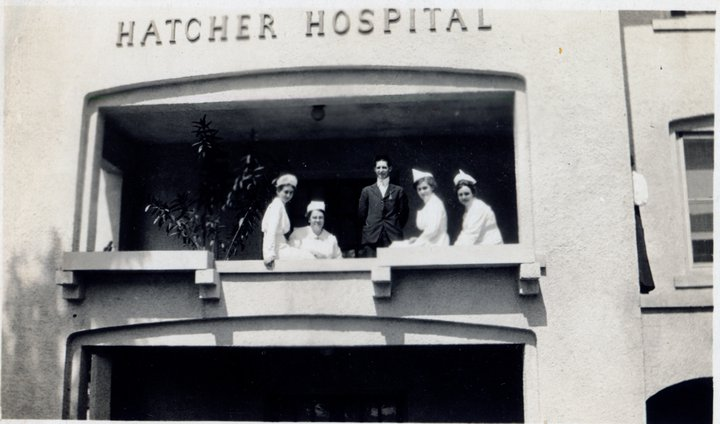 Hatched at Hatcher - Were you born at Hatcher Hospital?
