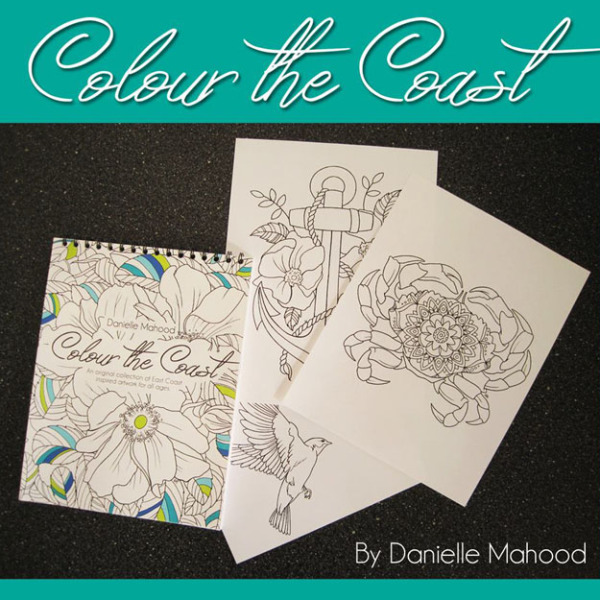 Colour the Coast Colouring Book