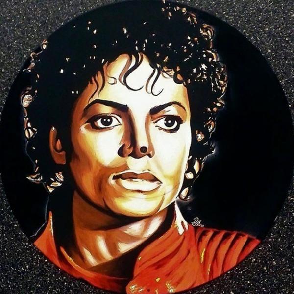 Vinyl Paintings