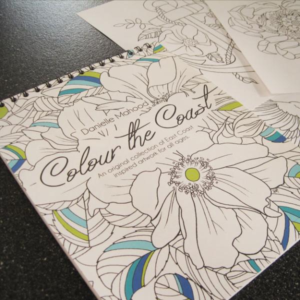 Colour the Coast Colouring Book