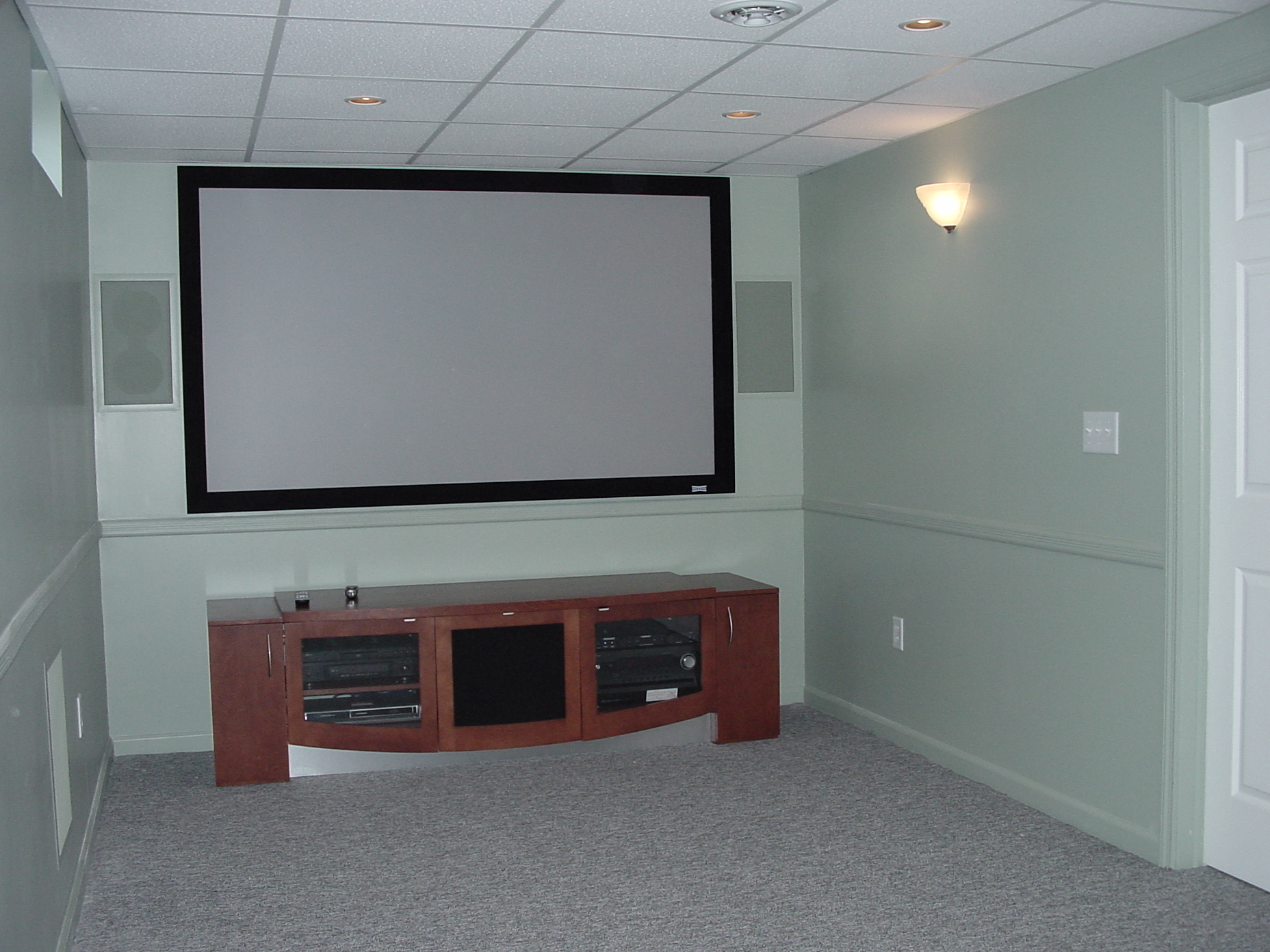 Basement and Entertainment Rooms