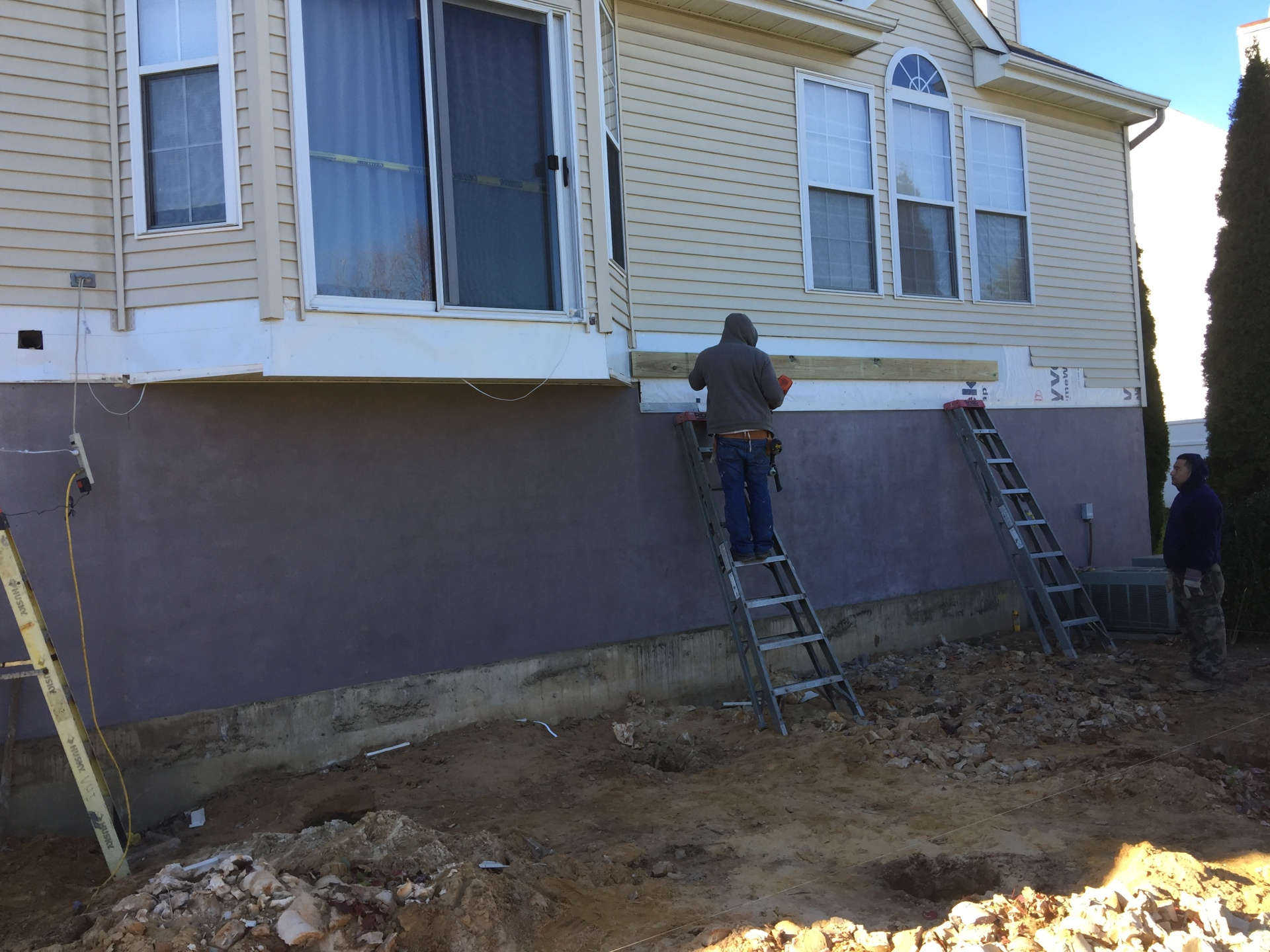 Installing Sill Plate