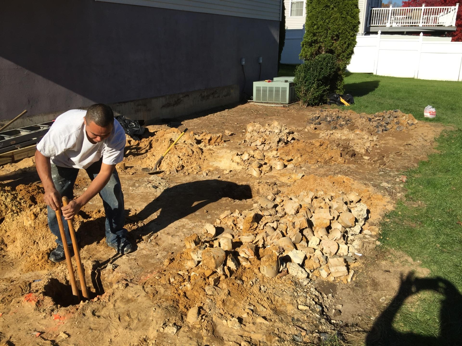 Dig Footings