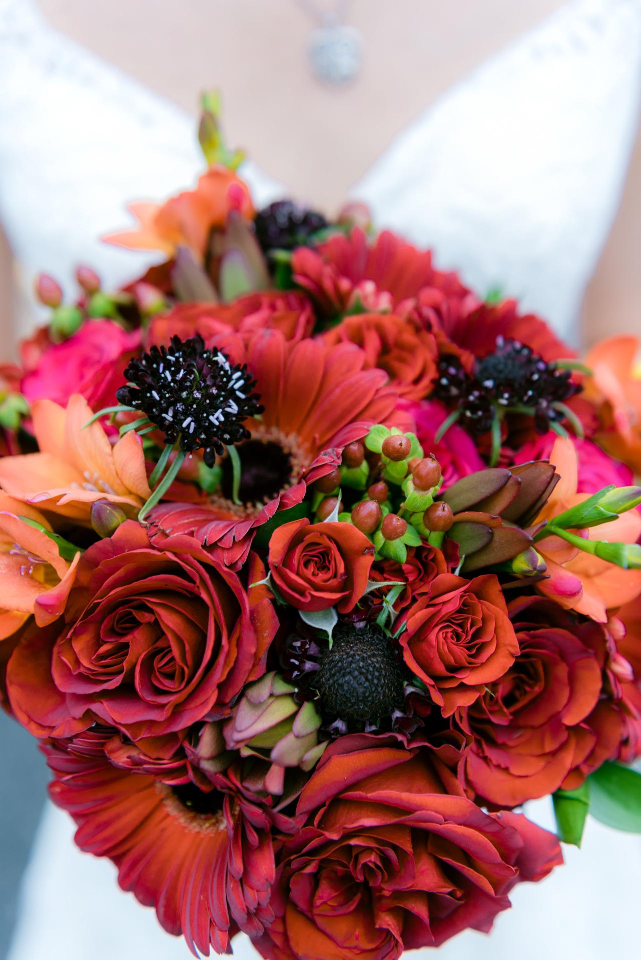 Bouquet for November Wedding