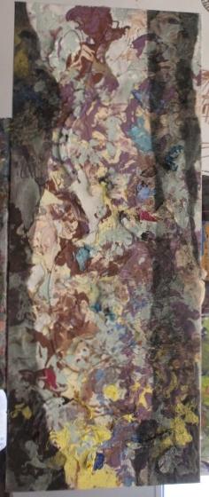 French Birches                   40 x 16