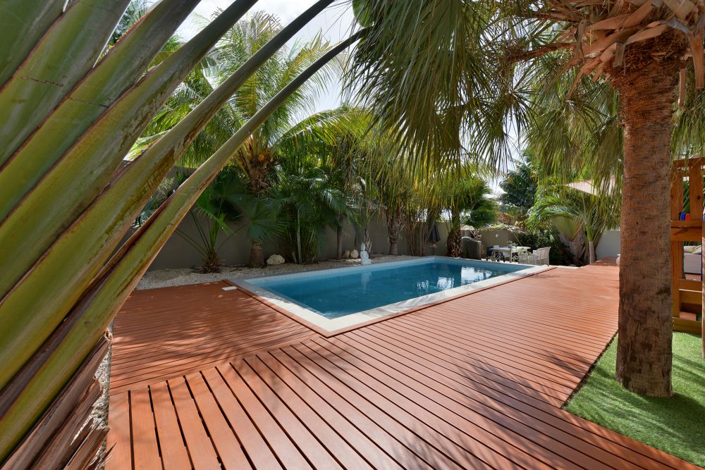 slat decking, aluminium decking, knotwood aluminium decking, decking perth, aluminium decking perth, woodlook aluminium
