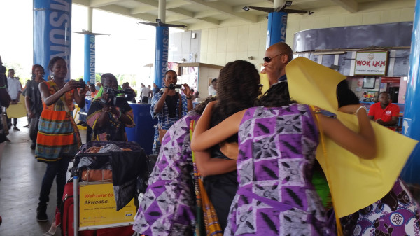 Kotoka Intl. Airport Gh. Day 1
