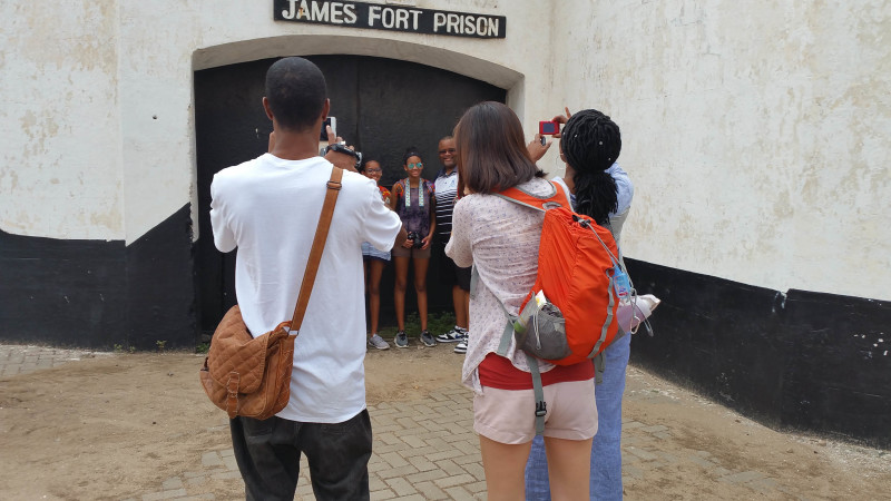 Accra James fort